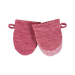 Artisanal Kitchen Supply® Mini Oven Mitts in Red (Set of 2)