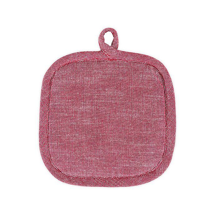 Alternate image 1 for Artisanal Kitchen Supply® Pot Holder in Red