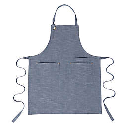 Artisanal Kitchen Supply® Chambray Apron in Navy