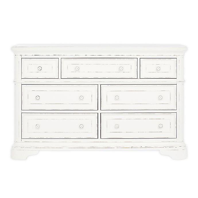 Alternate image 1 for evolur Signature Belle Double Dresser in White