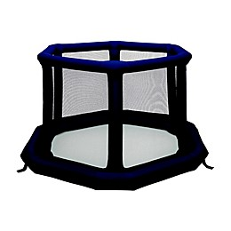 EverEarth Safety Core™ Inflatable Playard in Blue