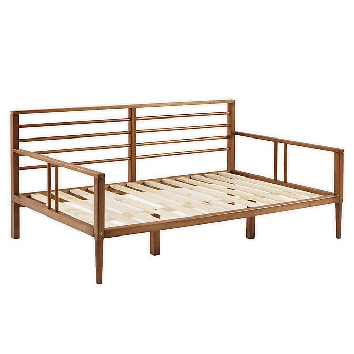 Alternate image 1 for Forest Gate™ Diana Solid Wood Spindle Daybed in Caramel