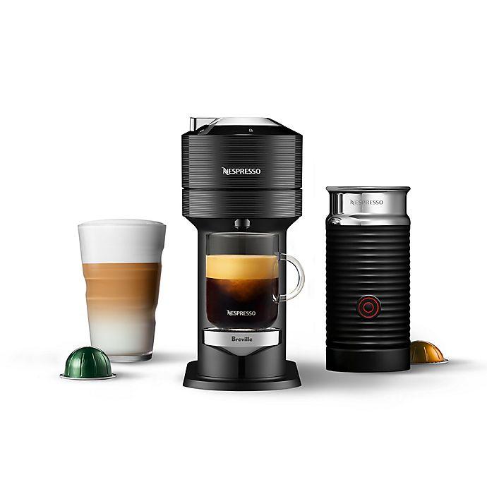 Alternate image 1 for Nespresso® by Breville Vertuo Next Premium Coffee Machine with Aeroccino in Black