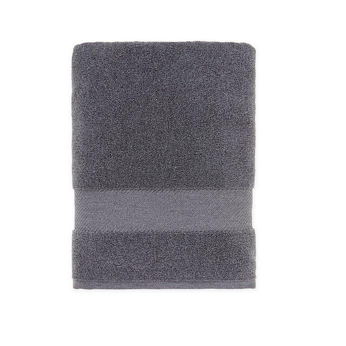 Alternate image 1 for O&O by Olivia & Oliver™ Turkish Fibro Bath Towel in Grey