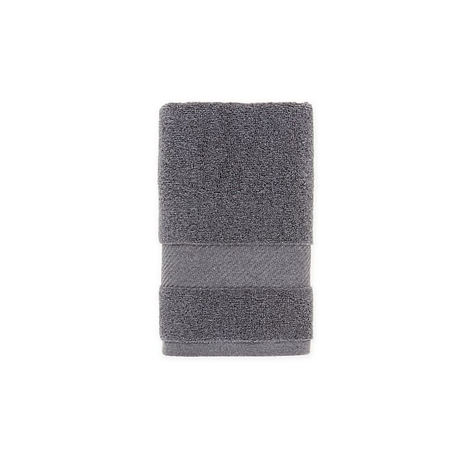 Alternate image 1 for O&O by Olivia & Oliver™ Turkish Fibro Hand Towel in Grey