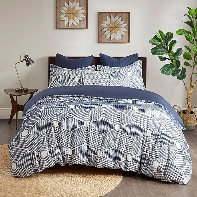Alternate image 1 for INK+IVY Ellipse 3-Piece Reversible Comforter Set