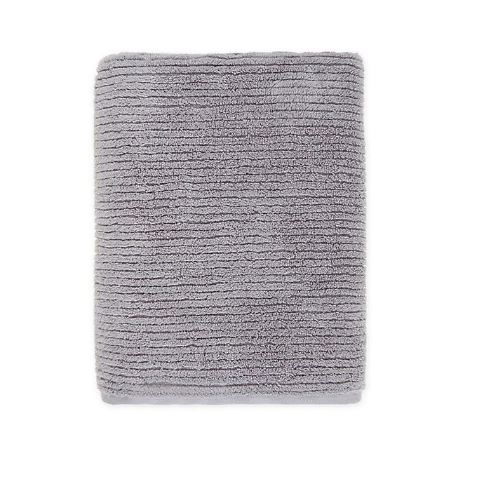 Alternate image 1 for O&O by Olivia & Oliver™ Turkish Ribbed Modal Bath Sheet in Grey