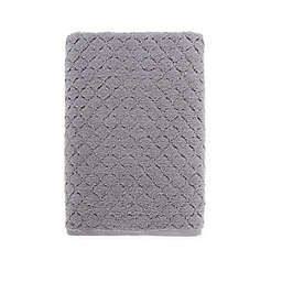 O&O by Olivia & Oliver™ Turkish Popcorn Bath Towel in Grey