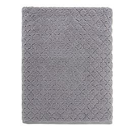 O&O by Olivia & Oliver™ Turkish Popcorn Bath Sheet in Grey