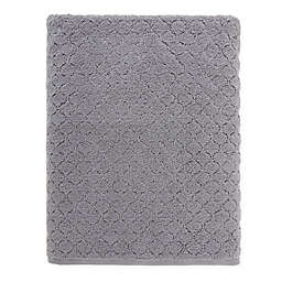 O&O by Olivia & Oliver™ Turkish Popcorn Bath Sheet in Grey