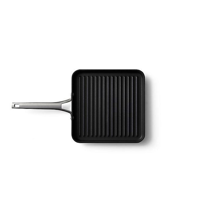 Alternate image 1 for Calphalon® Premier™ Hard-Anodized Nonstick 11-Inch Square Grill Pan