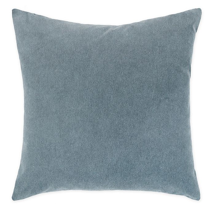 Alternate image 1 for O&O by Olivia and Oliver™ Solid Velvet Reversible Square Throw Pillow
