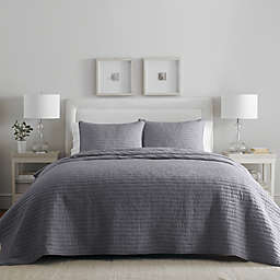 Wamsutta® Dakota 2-Piece Twin Quilt Set in Blue