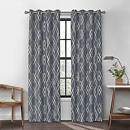 Urban Thread  Atwood Grommet Light Filtering Window Curtain Panel