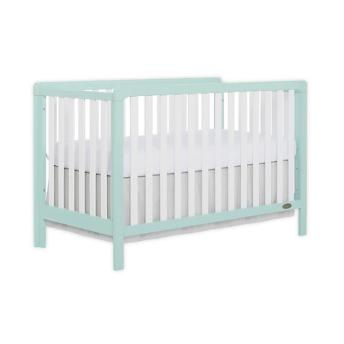 Alternate image 1 for Dream On Me Ridgefield 5-in-1 Convertible Crib in Mint