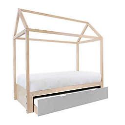 Nico & Yeye Domo Zen Twin Canopy Bed with Trundle
