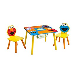 Sesame Street Table and Chair Set with Storage