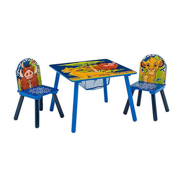 Alternate image 1 for Delta Children Disney® The Lion King Kids Table and Chair Set