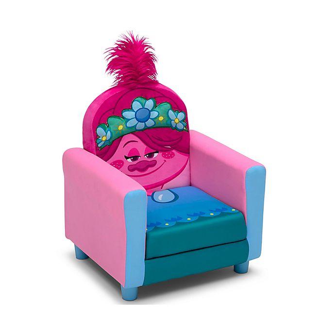 Alternate image 1 for Delta Children Trolls World Tour Figural Upholstered Chair