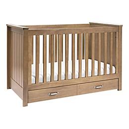 Asher 3-in-1 Convertible Crib in Hazelnut