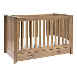 Asher 3-in-1 Convertible Crib in Hazelnut