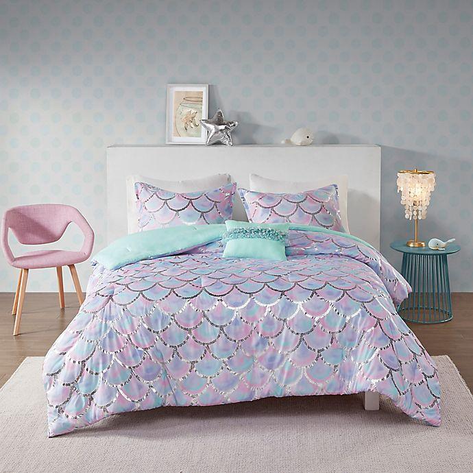 Alternate image 1 for Mi Zone Pearl Metallic 4-Piece Reversible Comforter Set