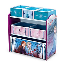 Delta Children Disney® Frozen II 6-Bin Design and Store Toy Storage Organizer