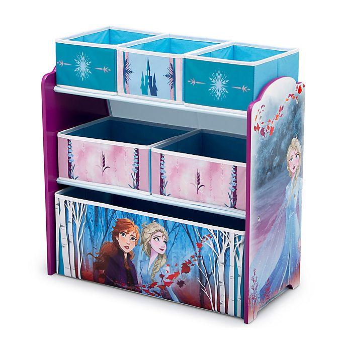 Alternate image 1 for Delta Children Disney® Frozen II 6-Bin Design and Store Toy Storage Organizer