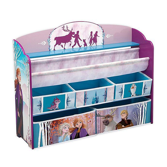 Alternate image 1 for Disney Frozen II Deluxe Toy and Book Organizer by Delta Children
