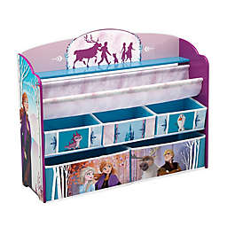 Disney Frozen II Deluxe Toy and Book Organizer by Delta Children