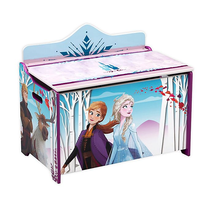 Alternate image 1 for Delta Children Disney® Frozen II Deluxe Toy Box