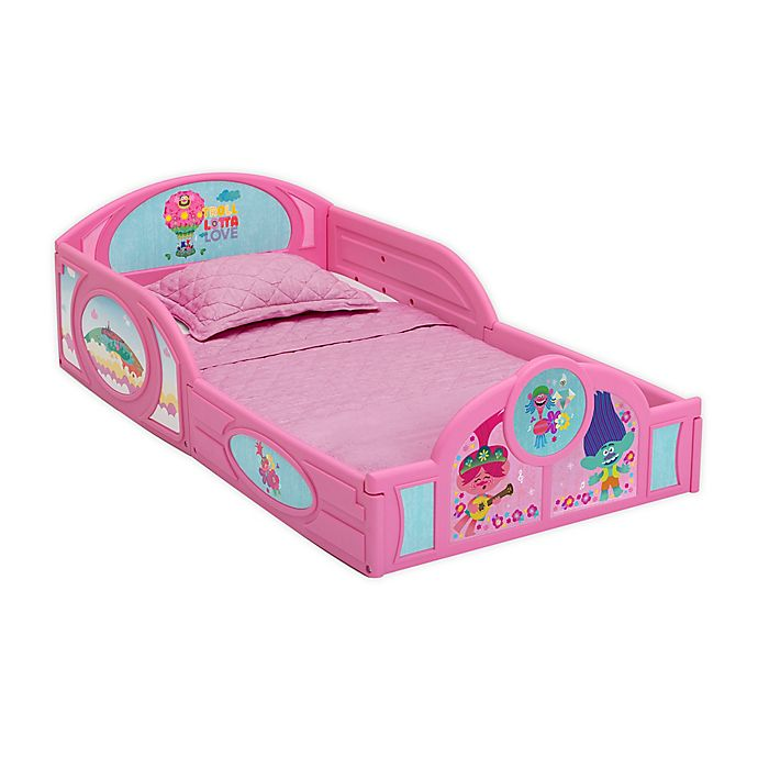 Alternate image 1 for Delta Children Trolls Toddler Bed