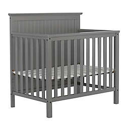 Dream On Me Ava 4-in-1 Convertible Mini  Crib