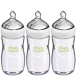 NUK® Simply Natural™ 3-Pack, 9 oz Baby Bottles