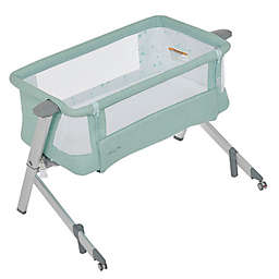 Dream On Me Skylar Bedside Bassinet in Mint