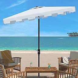 Safavieh Zimmerman 10-Foot Rectangle Market Umbrella