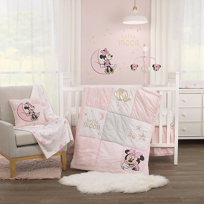 Alternate image 1 for Disney® Twinkle Twinkle Minnie Mouse Crib Bedding Collection