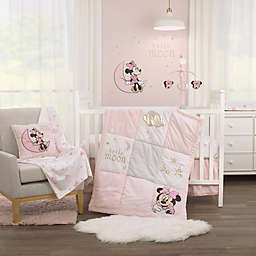 Disney® Twinkle Twinkle Minnie Mouse 3-Piece Crib Bedding Set in Pink