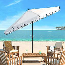 Safavieh Venice 11-Foot Round Crank Umbrella