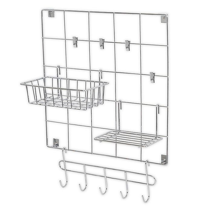 Alternate image 1 for Honey-Can-Do® 8-Piece Wire Wall Grid
