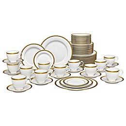 Noritake® Stavely Gold 60-Piece Dinnerware Set