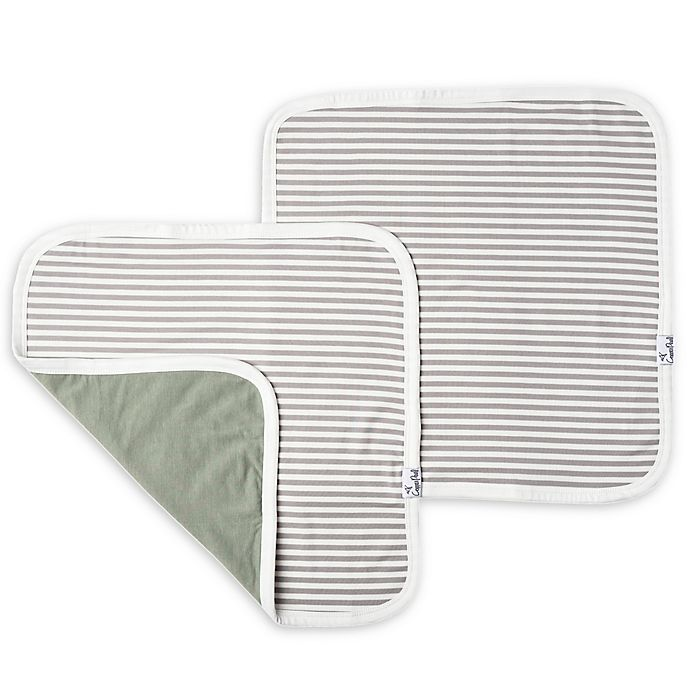Alternate image 1 for Copper Pearl 2-Pack Three-Layer Security Blankets in Everest