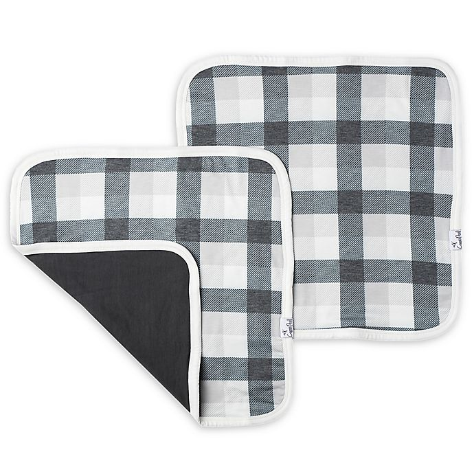 Alternate image 1 for Copper Pearl Hudson 2-Pack Three-Layer Security Blankets