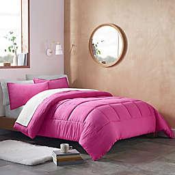 UGG® Devon 3-Piece Reversible Full/Queen Comforter Set in Rock Rose