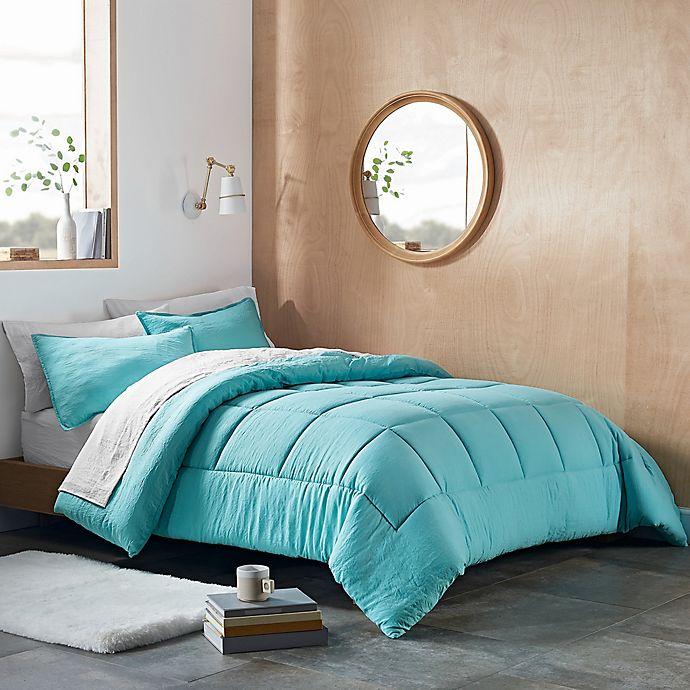 Alternate image 1 for UGG® Devon 3-Piece Reversible Full/Queen Comforter Set in Clearwater