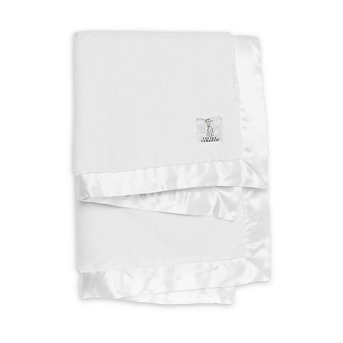 Alternate image 1 for Little Giraffe ® Luxe ™ Receiving Blanket
