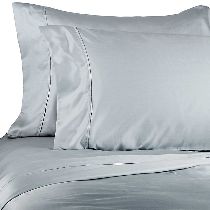 Alternate image 1 for Brookstone® BioSense™ 500-Thread-Count Tencel® Pillowcases (Set of 2)