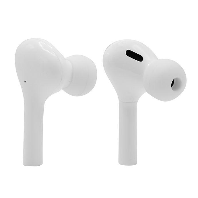 Alternate image 1 for Sharper Image® Earbuds Headphones in White