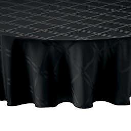 Wamsutta® Solid 70-Inch Round Tablecloth in Black
