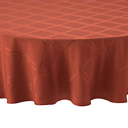 Wamsutta® Solid 60-Inch Round Tablecloth in Spice